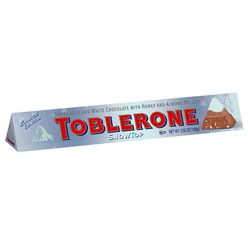 Toblerone瑞士三角雪山巧克力 100g【愛買】