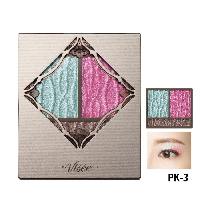 VISEE幻光稜鏡眼影盒003