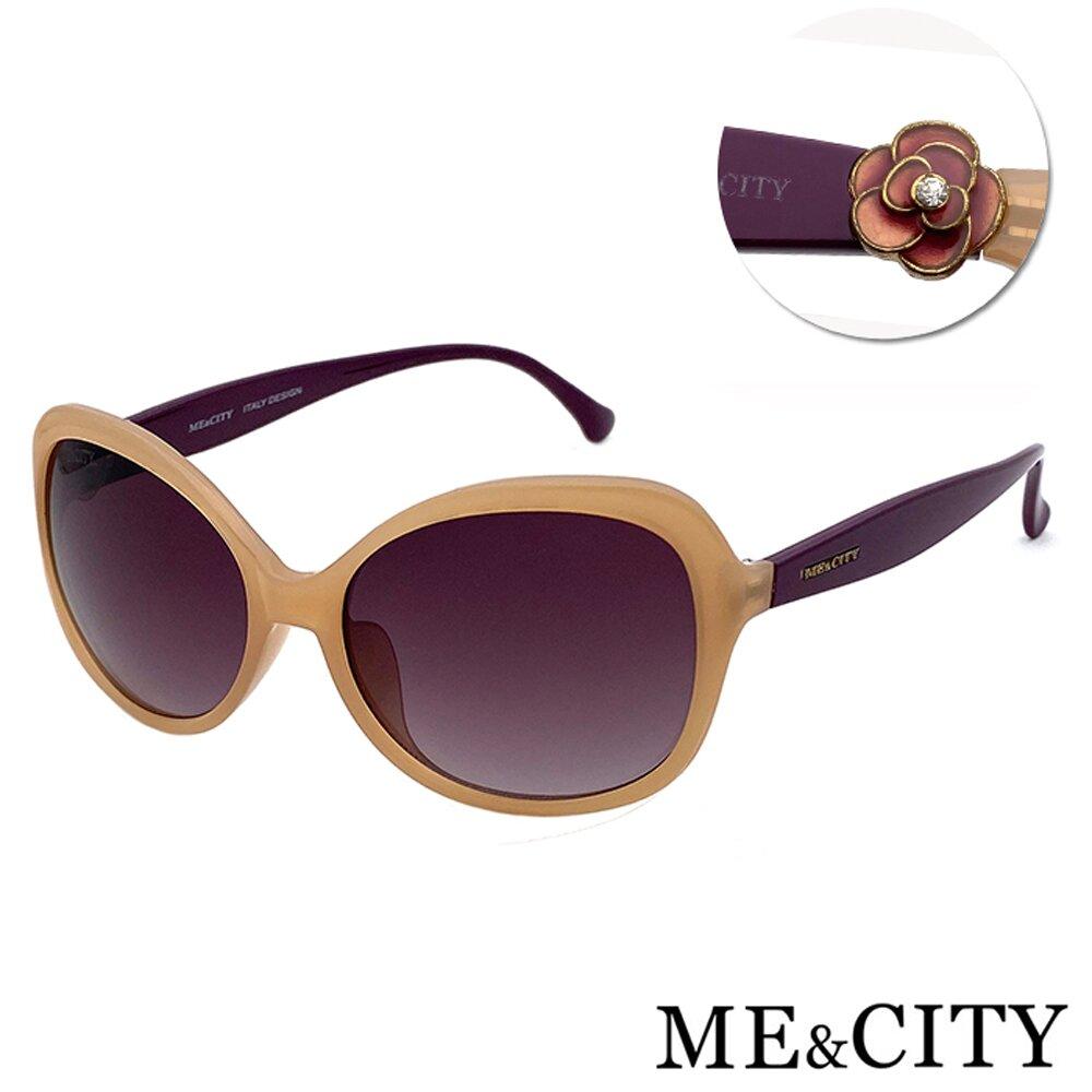ME&CITY 義式典雅簡約太陽眼鏡 抗UV400 (ME 1208 J09)