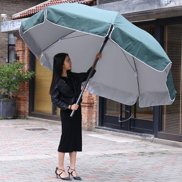 大號戶外遮陽傘擺攤傘沙灘傘太陽傘摺疊傘定制印刷廣告傘防雨防曬 WD