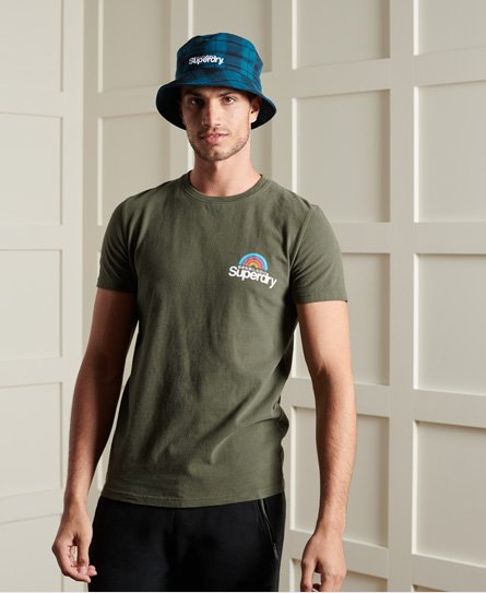 Superdry Core Logo Woodstock T-Shirt