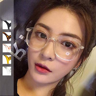 果凍感透明方框眼鏡【003909ADJ】