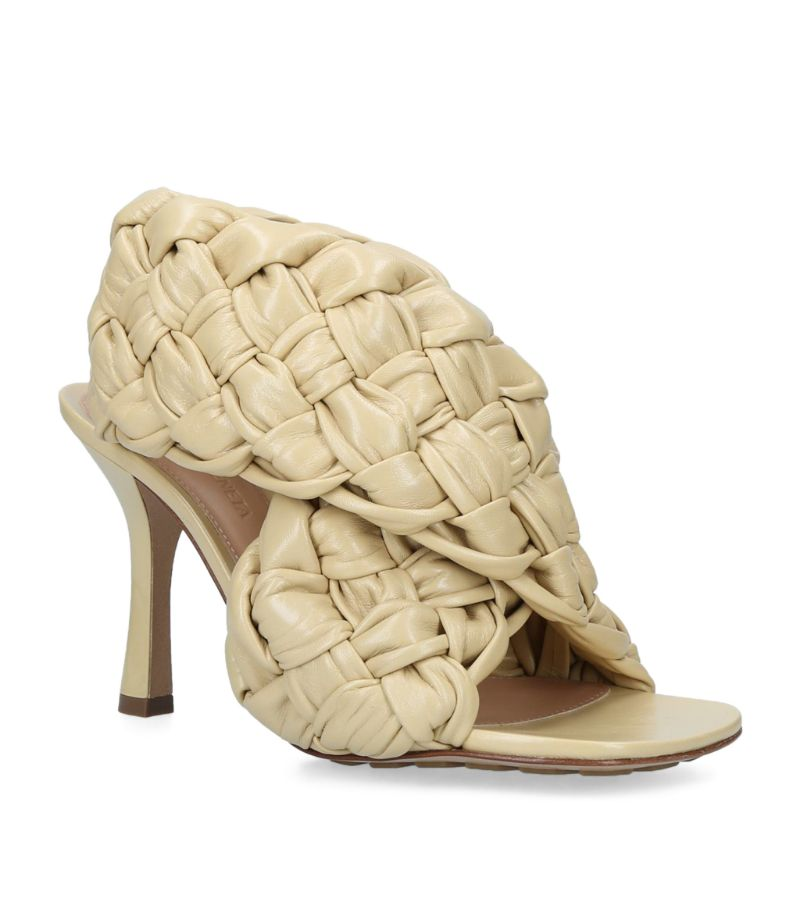 Bottega Veneta Leather The Board Sandals 90