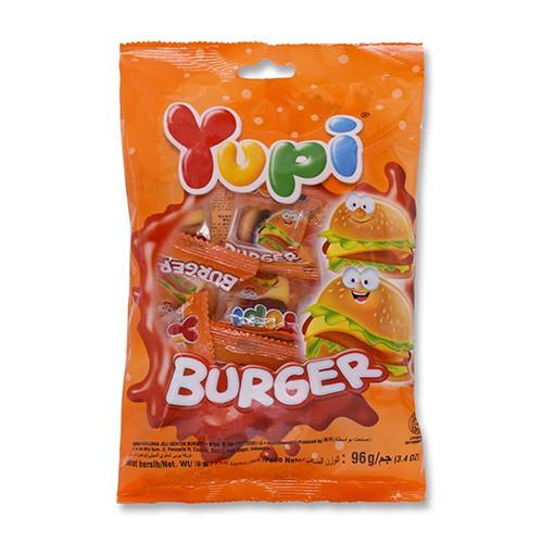 《呦皮》漢堡QQ糖96g【愛買】