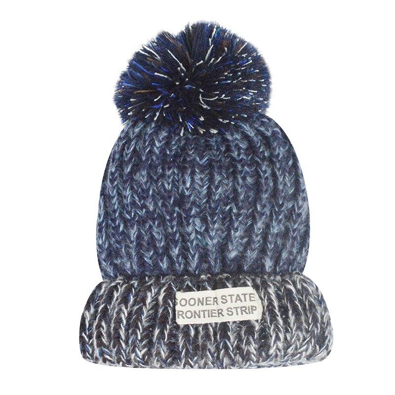 帽子女秋冬韓版毛線帽休閑百搭針織帽優雅英倫包頭帽子女編織女帽1入
