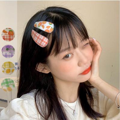 水果格子髮夾組合【006364BHBF】