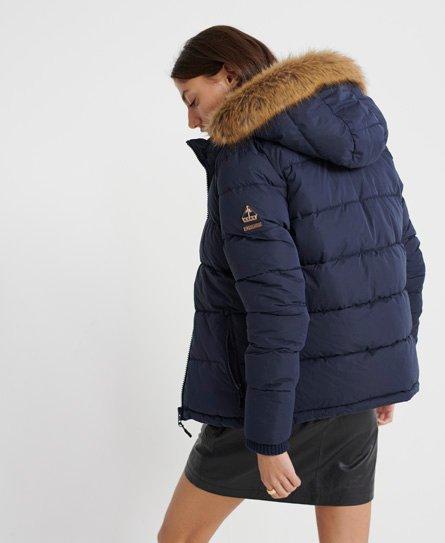 Superdry Kerama Faux Fur Microfibre Jacket