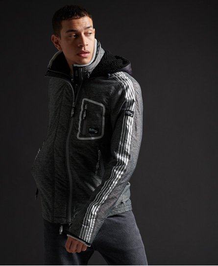 Superdry Limited Edition Hybrid Borg SD-Windcheater Jacket