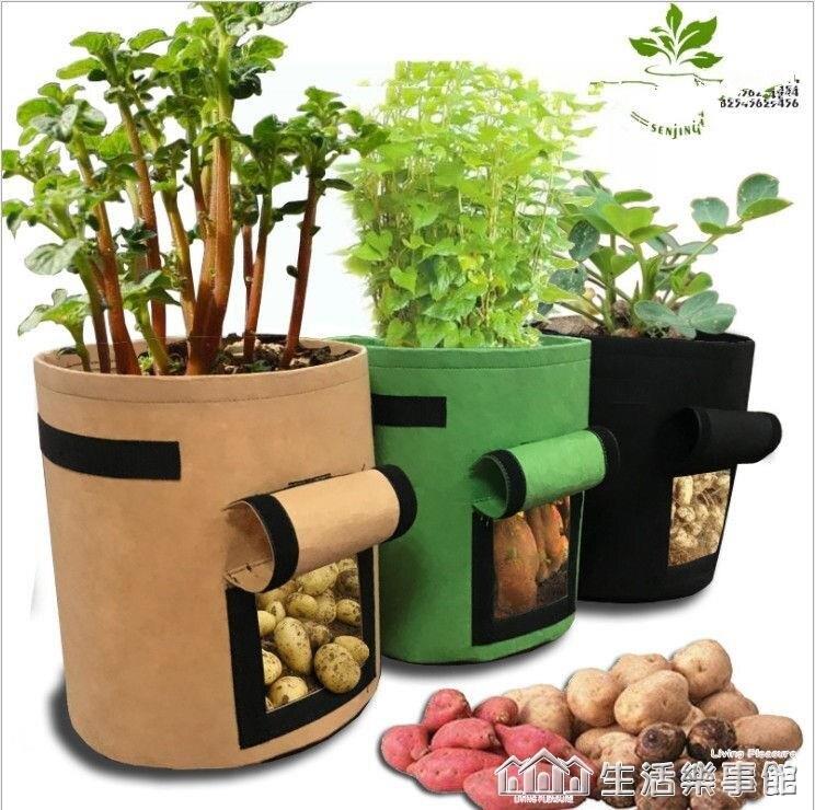 番薯土豆種植袋grow bag植物袋美植袋植樹袋植物生長袋 NMS 時尚學院