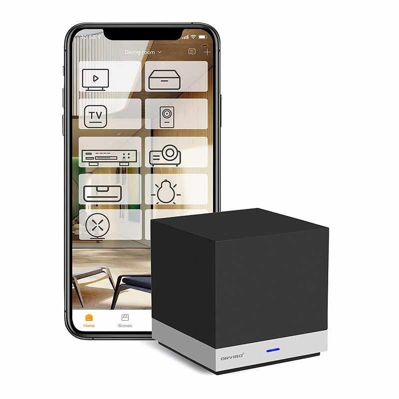 ORVIBO 智能語音控制器 搭配Alexa, Google, Siri, 2.4Ghz WiFi [2美國直購]