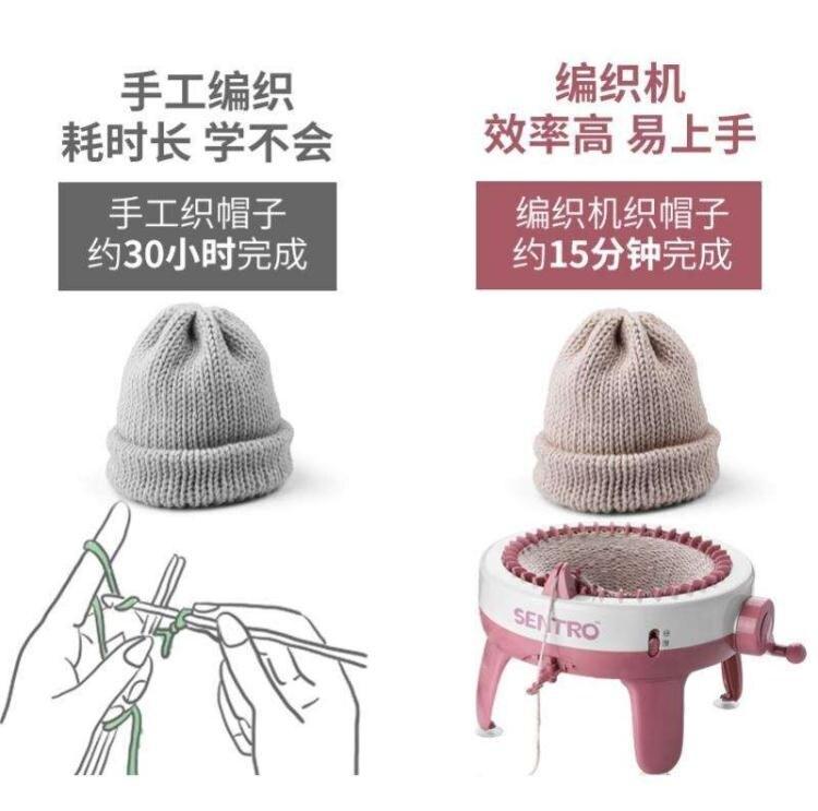 懶人織毛衣神器自動家用手搖大號多功能手工diy圍巾編織 聖誕節狂歡SALE