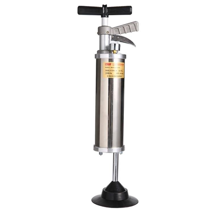 一炮通馬桶管道疏通器高壓不銹鋼大力通廁所工具通下水道疏通神器 MKS薇薇
