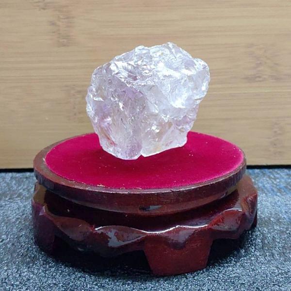 紫水晶天然原礦桌面擺件