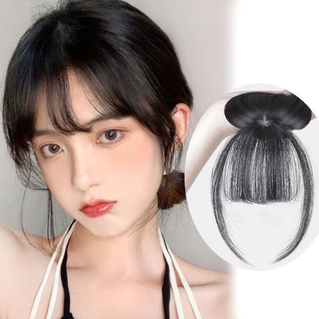 Foxbi,升級3D補頭頂少量韓晶空氣瀏海減齡造型假髮(多色)