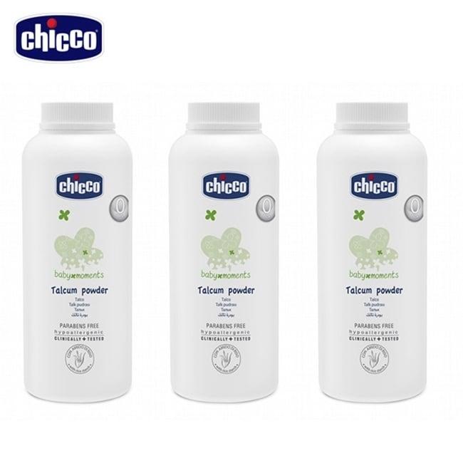chicco-寶貝嬰兒細緻爽身粉150g-3入組