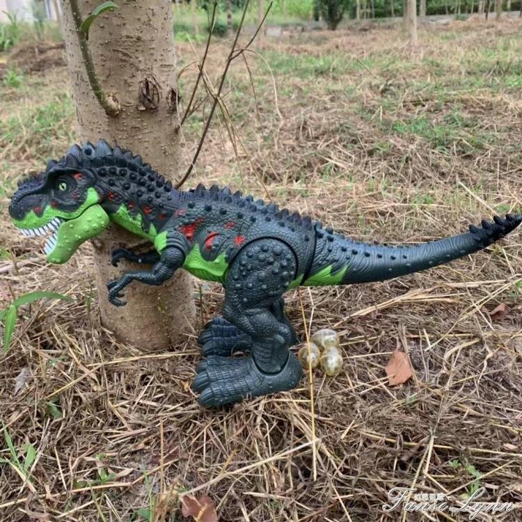 會發光發聲會叫男孩仿真暴龍恐龍玩具電動恐龍玩具會走路的霸王龍