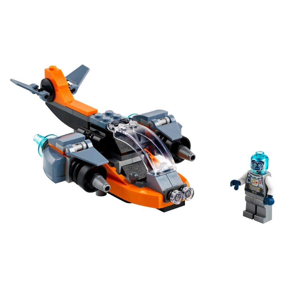 樂高LEGO 31111  創意百變系列 Creator 電子無人機 Cyber Drone Set