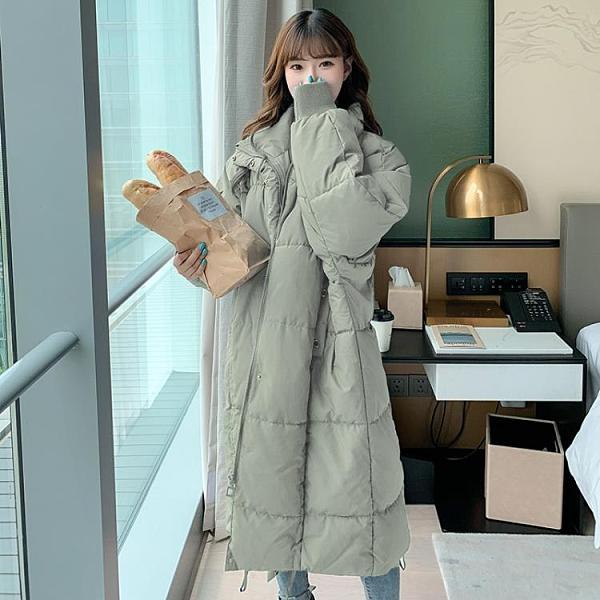 中長款羽絨棉衣棉服女韓版寬松冬季外套冬裝棉襖2020年新款女加厚
