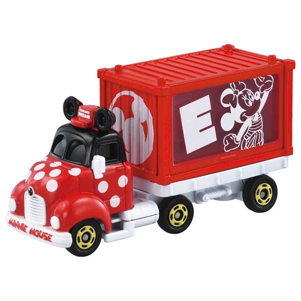 迪士尼小汽車 經典DREAM貨櫃小車 米妮_ DS15650