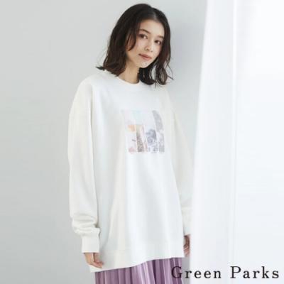Green Parks 質感底片印刷休閒上衣