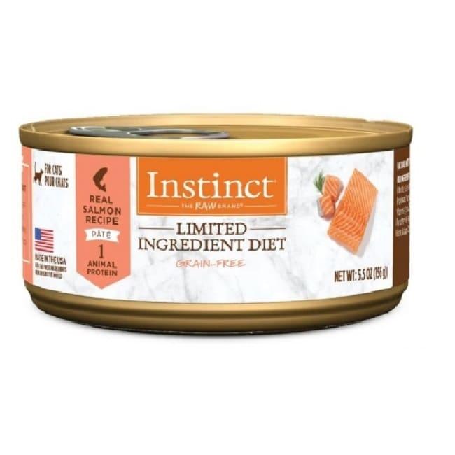 【Instinct原點】鮭魚低敏成貓主食罐156g