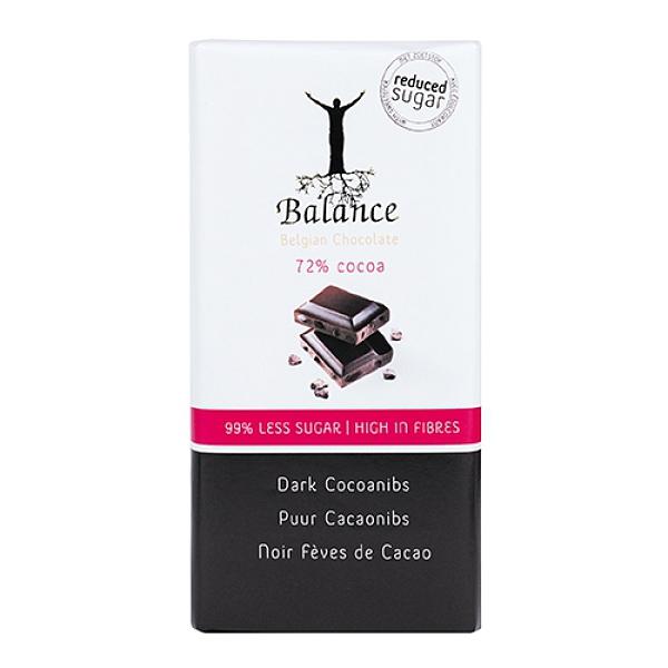 《倍樂思》72%無加糖可可脆片巧克力100G【愛買】
