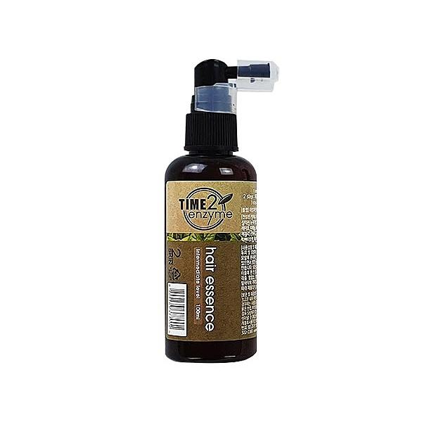 韓國 TIME2 100%植物酵素頭髮修護精華(100ml)【小三美日】