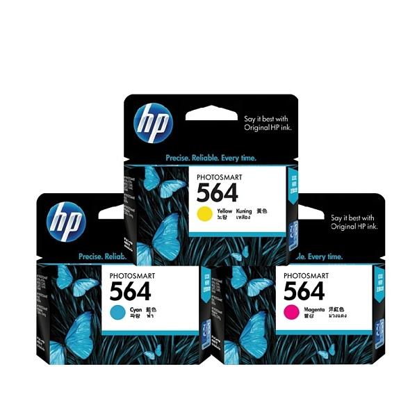 HP NO.564 564 黃色 原廠墨水匣 盒裝 適用3070A 4610 4620 5520等