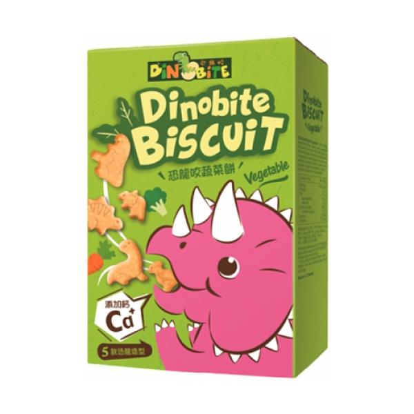 Dinobite恐龍咬蔬菜餅60g【愛買】
