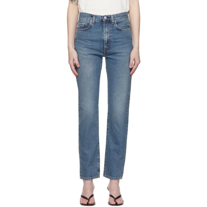 Toteme 蓝色 Regular Fit 牛仔裤