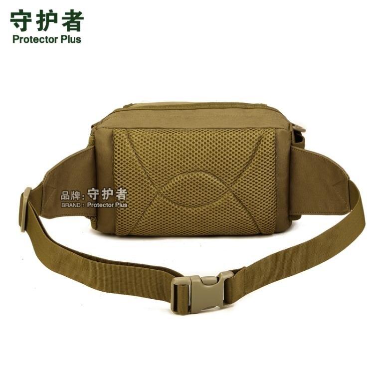 戰術腰包男士女戶外單肩斜背包側背包多功能休閒包防水路亞包