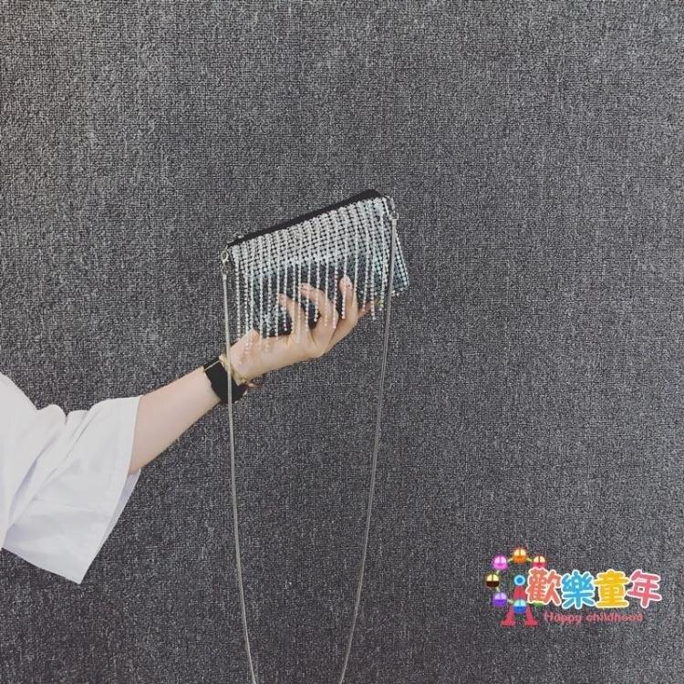 流蘇包 夏天小清新超迷你包包女2020新款百搭時尚洋氣網紅流蘇鍊條斜背包【全館免運 七五折鉅惠】