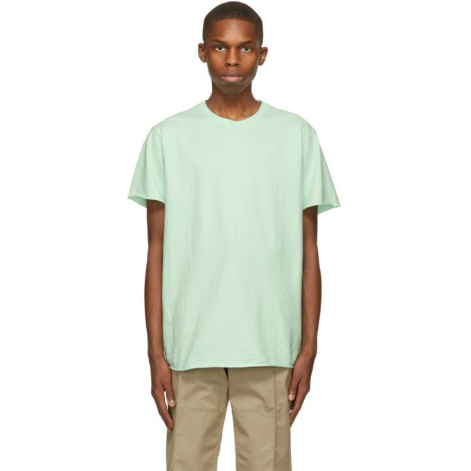 John Elliott 绿色 Anti-Expo T 恤