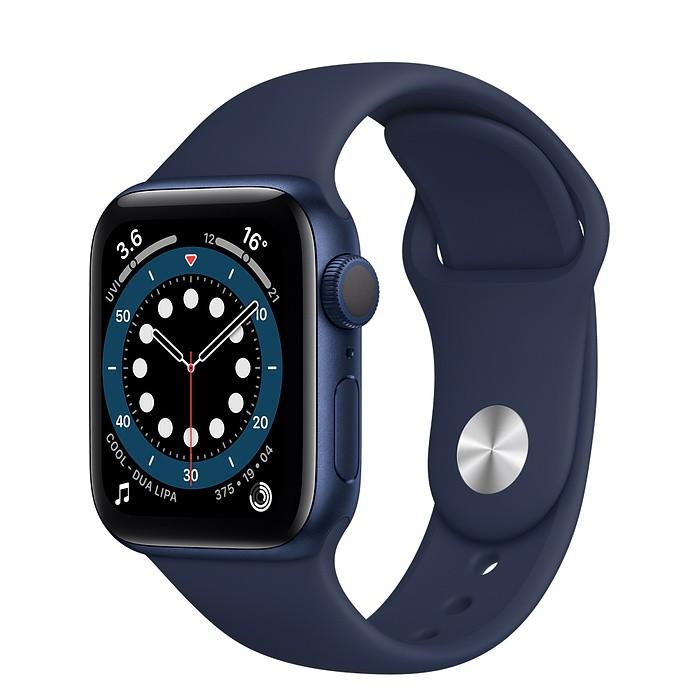 Apple Watch S6 GPS 40mm/藍色鋁金屬錶殼/海軍深藍色運動型錶帶 MG143TA/A