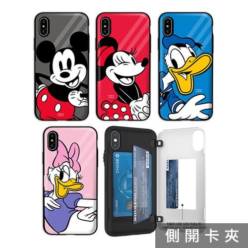 迪士尼 라인 手機殼│側開卡夾│S20 S20+ FE Note20 Ultra│TR-3213