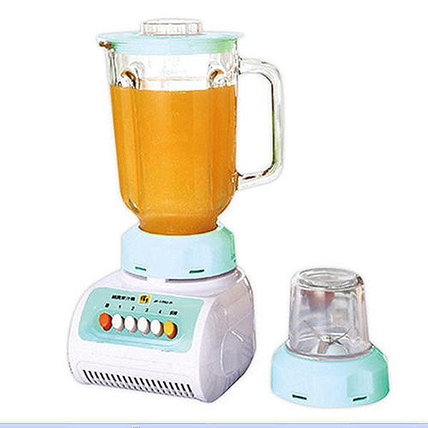 庫存出清 免運 鍋寶 1.5L 碎冰玻璃杯果汁機 JF-1582-D
