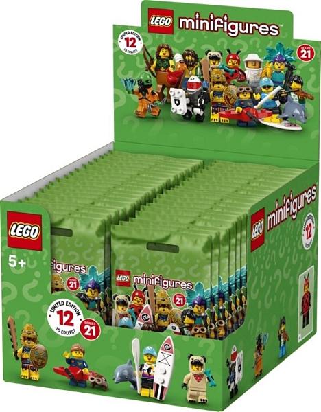 樂高LEGO Minifigures 第21彈 人偶組 人偶包 整盒36隻未拆袋 71029 TOYeGO 玩具e哥