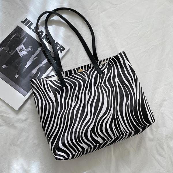 2021新品促銷 今流行的大包包女新款時尚大容量手提單肩包網紅托特包