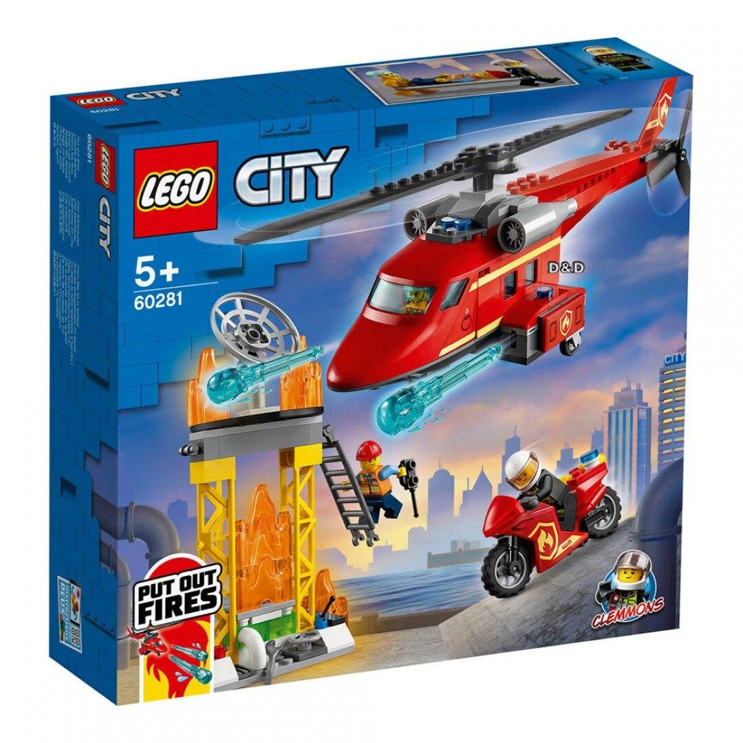 樂高LEGO 60281 City Fire 城市系列 消防救援直升機