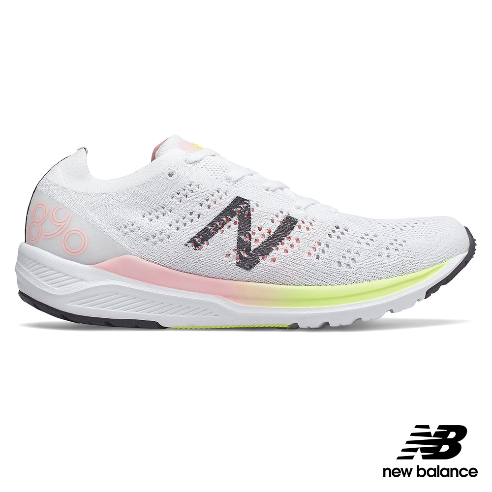 New Balance 890 v7 女 跑步鞋 白