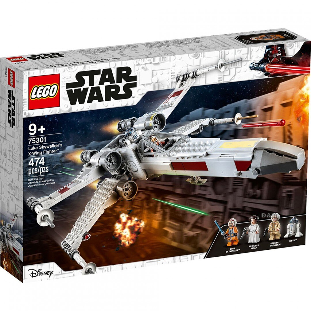 樂高LEGO 75301 Star Wars 星際大戰系列 Luke Skywalker's X-Wing Fighter™