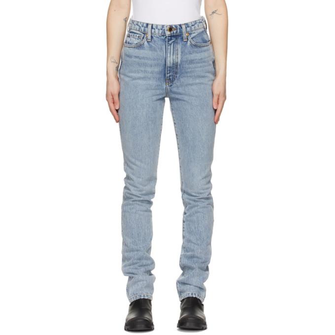 Khaite 蓝色 Daria 牛仔裤