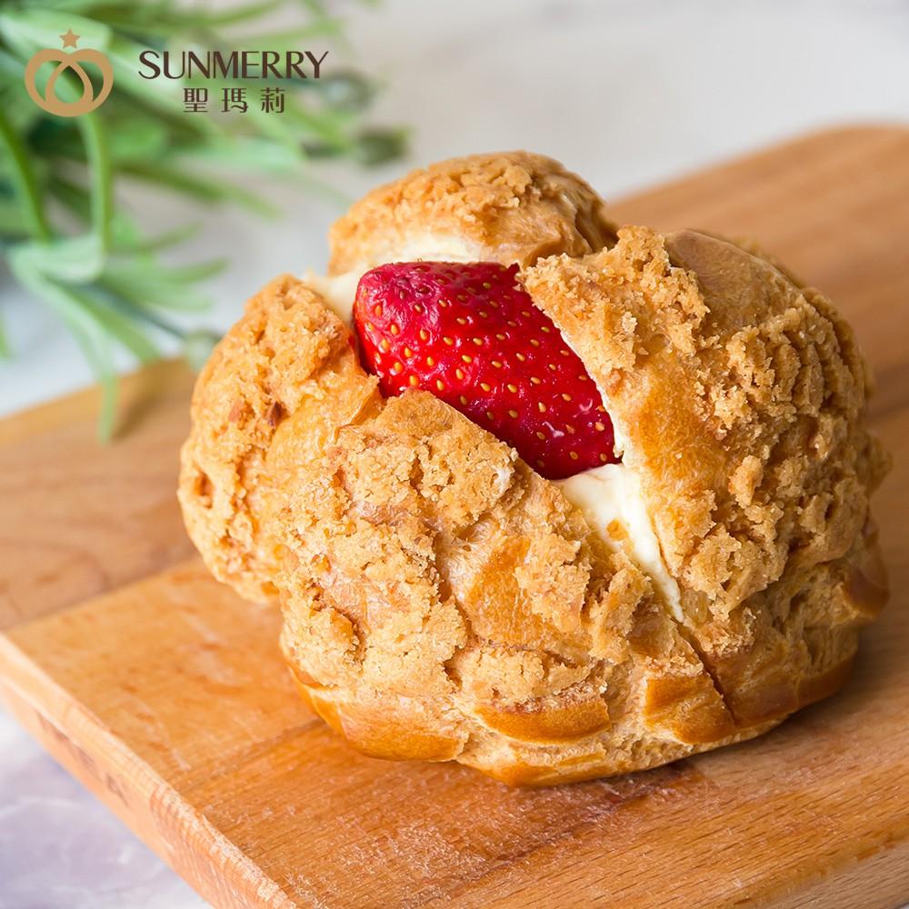 聖瑪莉草莓脆皮泡芙/下午茶