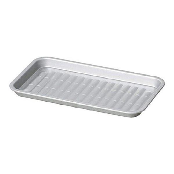 小禮堂 Pearl 日製 方形不鏽鋼燒烤盤 平底烤盤 烤肉盤 煎盤 (銀) 4549308-55029