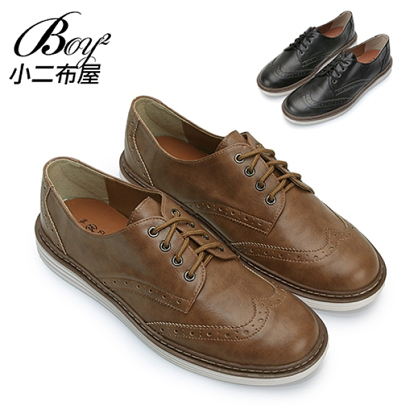 MIT男鞋 紳士休閒牛津鞋平底鞋皮鞋【NKP-2CW42】