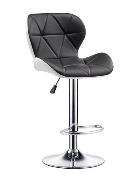 吧臺椅 升降酒吧椅子時尚創意美容凳旋轉家用現代靠背高腳吧臺圓凳 DF 維多原創