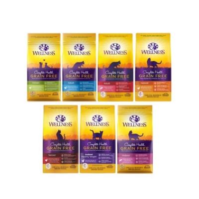 WELLNESS寵物健康-GRAIN FREE全方位無穀貓食譜系列 5.5LBS/2.5KG (贈7-11咖啡禮券)