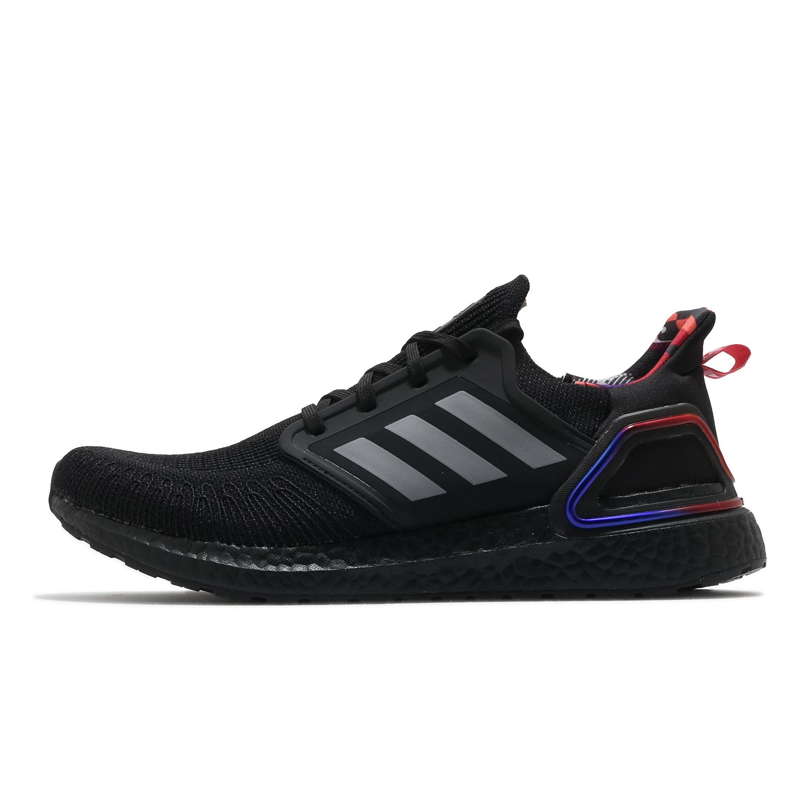 adidas 慢跑鞋 Ultraboost 20 黑 藍 紅 CNY 中國新年 男鞋 BOOST【ACS】 GZ7606