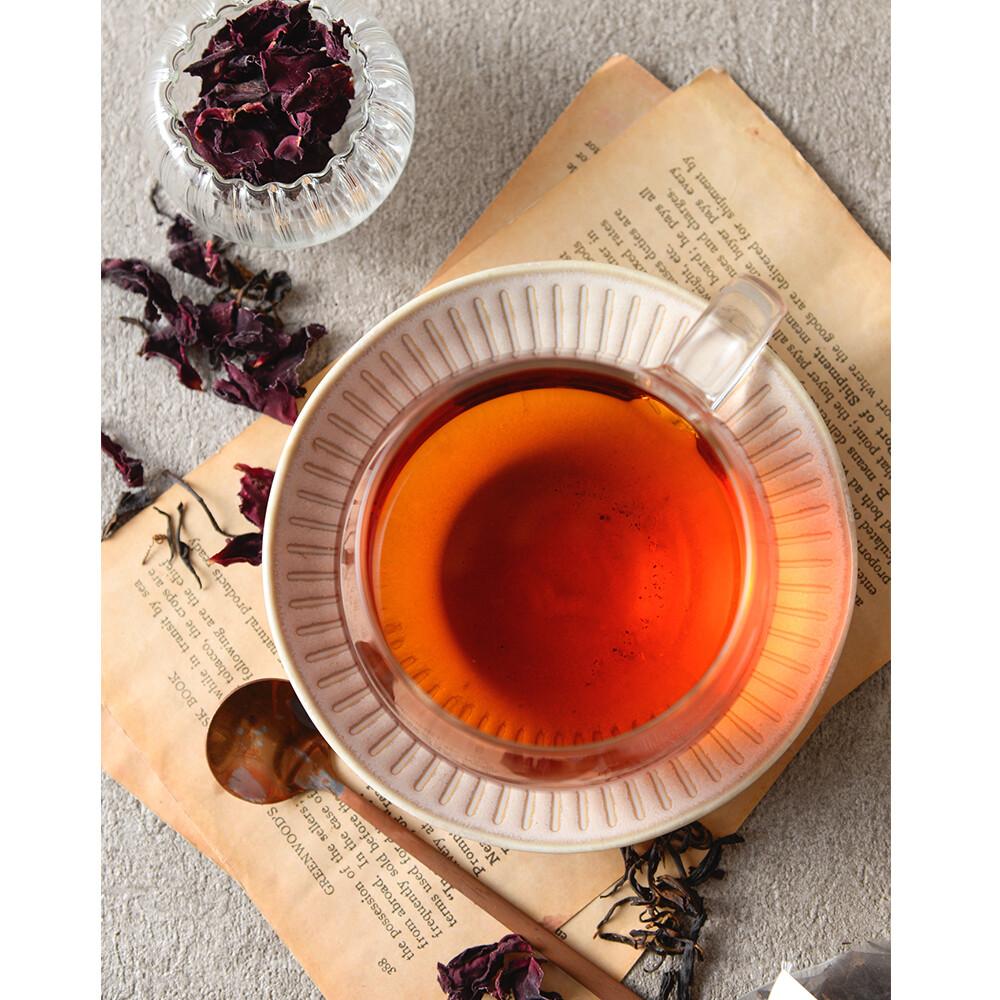 方菩提嚴選瑰蜜紅茶_茶包禮盒 蜜香紅茶 阿里山產區 有機玫瑰花