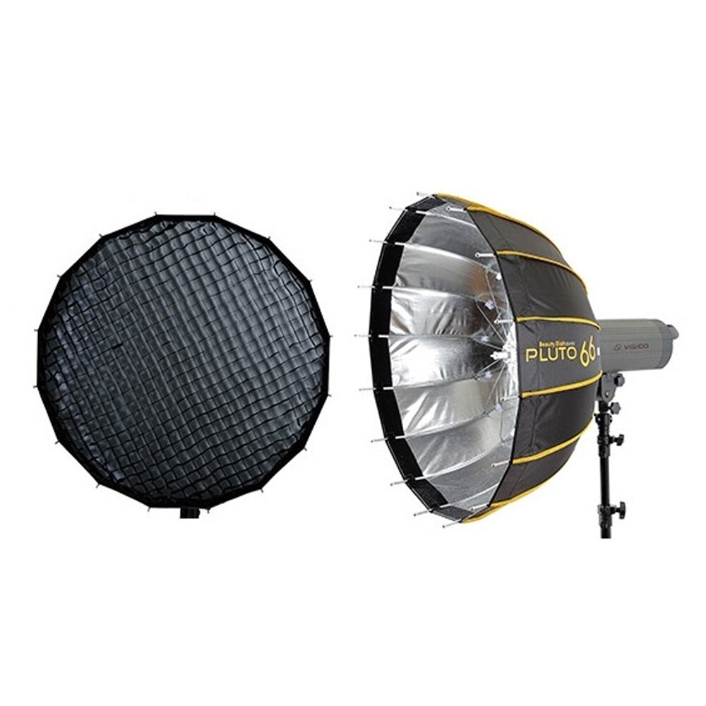 贈卡口轉接環~HADSAN PLUTO 快收雷達罩 66 + 快收雷達罩 66蜂巢 柔光罩 柔光箱(公司貨)